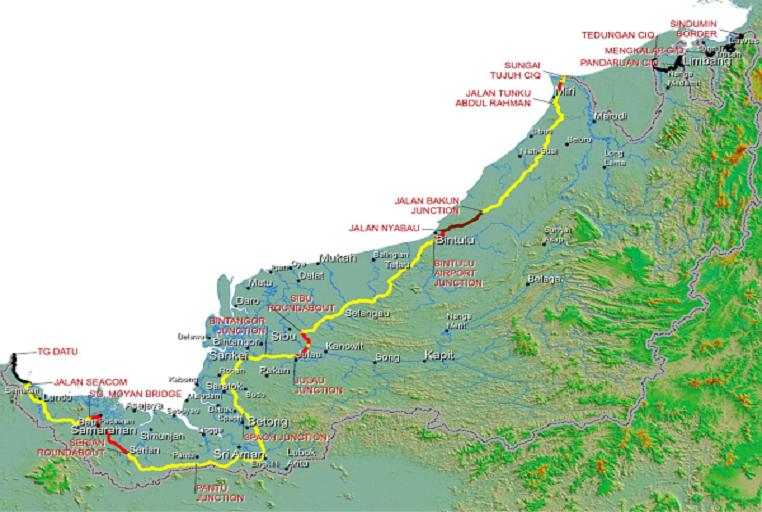 Pan Borneo Highway Sarawak Pan Borneo Highway Sarawak